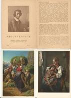Suisse, Cartes Pro Juventute De Rudolf Koller Avec Emballage (5x 1958) - Peintures & Tableaux
