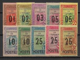 Tunisie - 1925 - N°Yv. 110 à 119 - Série Complète - Neuf  Luxe ** / MNH / Postfrisch - Tunisia (1888-1955)