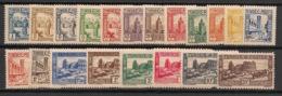 Tunisie - 1931-33 - N°Yv. 161 à 180 - Série Complète - Neuf  Luxe ** / MNH / Postfrisch - Tunisie (1888-1955)