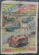 24 Heures Du Mans 1960.Illustré Par Boivent.Avion,pilote Giraud Au Mont-Blanc.Soulitré.Peugeot. - Newspapers