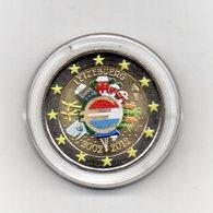 Lussemburgo - 2012 - Moneta Da 2 Euro - Decennale Euro - Colorato - In Capsula - (MW2061) - Lussemburgo