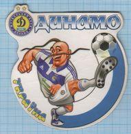 UKRAINE / Flexible Magnet / Football FC Dynamo Kyiv Cossack. - Sports
