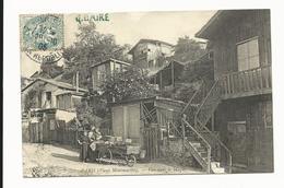 CPA De Paris -Vieux Montmartre - Vue Dans Le Maquis - 1905- Marchande Des 4 Saisons - 2 Scans - Frankrijk