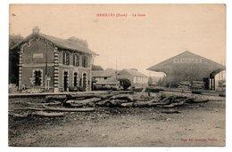 27  MENILLE  -  La Gare - Andere Gemeenten