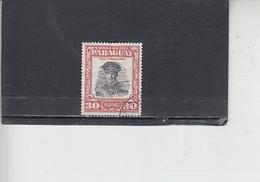 PARAGUAY  1958 - Yvert  553 - Strossner - Paraguay