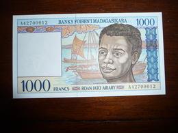 MADAGACAR * 1000 Francs  1994   NEUF  UNC - Madagascar