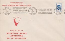 Argentina 1971 Commemoracion Vuelos Estafetta 1952-1971 Cover Ca 15 Mar 1971 (42024) - Argentinië