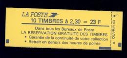 France : Carnet   Yv  2614 C3   ** Conf 9 - Carnets