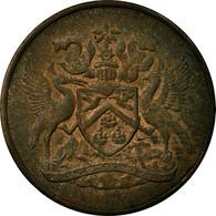 Monnaie, TRINIDAD & TOBAGO, 5 Cents, 1967, Franklin Mint, TTB, Bronze, KM:2 - Trinité & Tobago