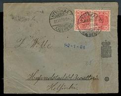 FINLAND. 1900 (31 Dec). Hyvinkaa - Helsinki. Official Fkd Env. VF. - Finland