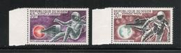 NIGER - 1966 - 2 VALORI NUOVI STL DI P.A. - PASSEGGIATE DI ASTRONAUTI NELLO SPAZIO - IN OTTIME CONDIZIONI. - Afrique