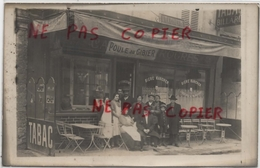 93 - Noisy Le Grand - Carte Photo Café Au 19 Grande Rue - Cafés