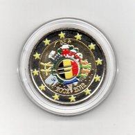Belgio - 2012 - Moneta Da 2 Euro - Decennale Euro - Colorato - In Capsula - (MW2064) - Belgio