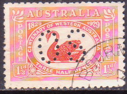 Australia 1929 SG #O120 1½d Used Centenary Of Western Australia CV £22 - Service