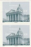 FRANCE 2007 N°4000** HOMMAGE AUX JUSTES LA PAIRE - Neufs