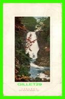 KISAGATA, UGO - NASO WATER-FALL - TRAVEL IN 1916 - 3/4 BACK - - Japon
