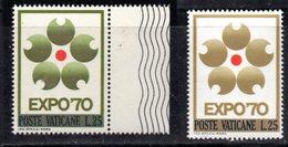 ETP159 - VATICANO 1970 , Il 25 Lire N. 479  Expò : SPLENDIDA Varietà Di Colore - Errors & Oddities