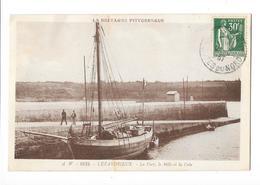 LEZARDRIEUX (22) Le Port Le Mole Et La Cale Bateau De Peche - France