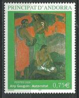 "Andorre YT 587 "" P. Gauguin "" 2003 Neuf** - Nuevos"