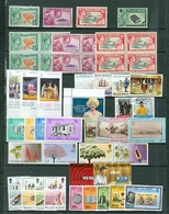 Pitcairn LOT Of 49 Incl. 8 SETS MOSTLY MNH Royals Views Ships More MOSTLY MNH Cat $61 US  WYSIWYG  A04s - Pitcairn Islands