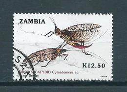 1989 Zambia Insects Used/gebruikt/oblitere - Zambia (1965-...)