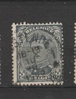 COB 183 Oblitération Centrale OOSTENDE - 1915-1920 Albert I.