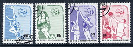 ALBANIA 1985. Basketball, Used.  Michel 2270-73 - Albanie