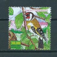 2001 Turkey Birds,oiseaux,vögel,vogels Used/gebruikt/oblitere - 1921-... Republiek