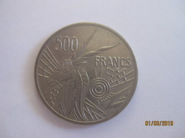 Banque Des Etats De L'Afrique Centrale: 500 Francs CFA 1976 - Monnaies