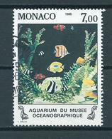 1985 Monaco Vissen,poisson,fish Used/gebruikt/oblitere - Monaco