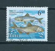 2000 Estland Vissen,poisson,fish Used/gebruikt/oblitere - Estonia