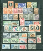 Barbados LOT 85 Includes. 6 SETS. Royals Views Britannia Flowers Tourism MNH MH Used Cat $96 WYSIWYG A04s - Barbados (1966-...)