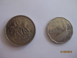 Nigeria: 50 Kobo + 1 Naira 1991 - Nigeria
