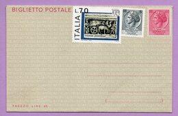 Biglietto Postale, Non Spedito - Italia