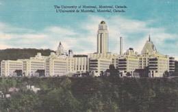 CARTOLINA - CANADA - MONTREAL - THE UNIVERSITY OF MONTREAL - Montreal