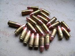 Lot De 25 Cartouches 9mm Para Neutralisées - Armes Neutralisées