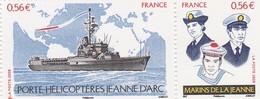 FRANCE 2009 N°4423/4424 ** PORTE HELICOPTERES LA PAIRE BDF - Neufs