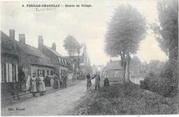 VIEILLE CHAPELLE (62) Entrée Du Village Belle Animation - Francia