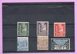 Francobolli Regno D'Italia - 1923 Anniversario Della Marcia Su Roma  Serie 6 Valori - Nuovi - 1900-44 Vittorio Emanuele III