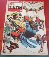 Journal De Tintin N°585 Janvier 1960 Modèles Général Motors,BD Jean Bart,Porte Avions Arromanches,Sportifs Français - Tintin