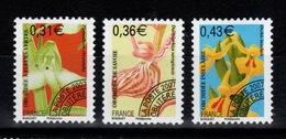 Preobliteres - YV 250 à 252 N** Orchidees Cote 9 Euros - Precancels