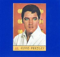 Figurina Panini Cantanti 1968 - Elvis Presley - Edizione Italiana
