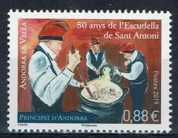 Andorra (French Adm.), Escudella De Sant Antoni, Popular Festival , 2019, MNH VF  826 - Unused Stamps