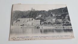 *Environs De NAMUR  La Plante, Le Funiculaire Et Le Grand Hôtel De La Citadelle Oblitéré En 1905 - Namur