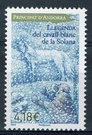 Andorra (French Adm.), Llegenda Del Cavall Blanc De La Solana , 2019, MNH VF  825 - French Andorra