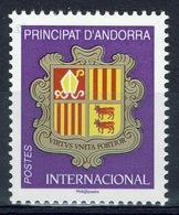 Andorra (French Adm.), Coat Of Arms, INTERNACIONAL , 2019, MNH VF - French Andorra