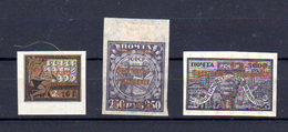 1922-23   Russie,timbre Surcharge Renversée, 196a*, Cote 50 €, - 1923-1991 USSR