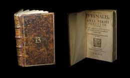 [Imp. HANAU JUVENAL PERSE] D. Junii Juvenalis & Auli Persii Flacci - Satyrae. 1623. - Livres, BD, Revues