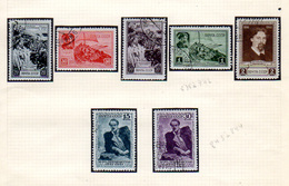1941   URSS 1941, Peintre Vasili Ivanovitch, 838 / 844 Ø, Cote 70 €, - Used Stamps