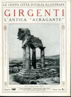 1920 Cento Città D' Italia Girgenti-L'Antica Acragante - Ante 1900